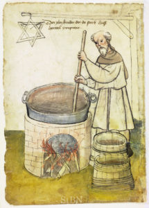 The oldest depiction of a brewer's star dates back to the 15th century.