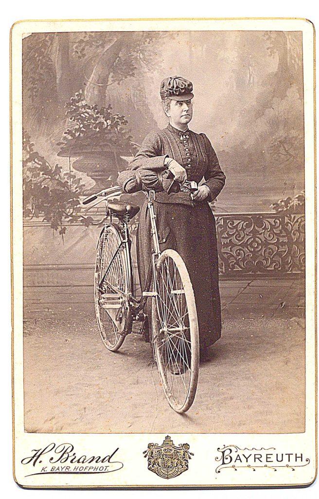 Fanny Workman in Bayreuth.